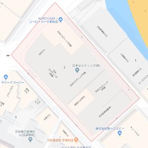 詐欺サイトエージェントの地図